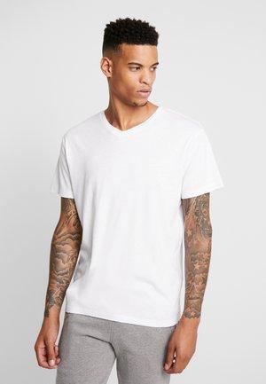 JORSAIFUL TEE NECK  - T-shirt basic - white