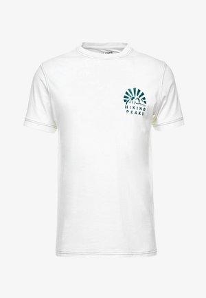 JORWARD TEE CREW NECK - T-shirt print - cloud dancer