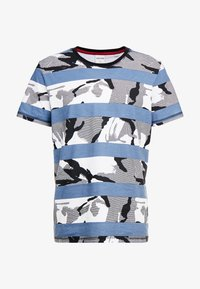 Jack & Jones - JCOMIGO TEE  - Print T-shirt - china blue - 3