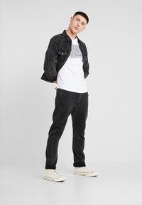 Jack & Jones - JCOHERKULES TEE CREW NECK SLIM FIT - Print T-shirt - white - 1