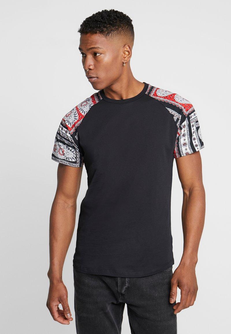 Jack & Jones - JORBOLD TEE CREW NECK REGULAR - Basic T-shirt - tap shoe