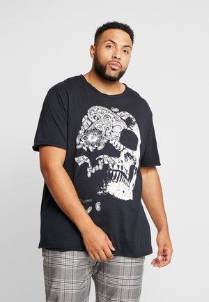JORMOULDER TEE CREW NECK - T-shirt med print - tap shoe