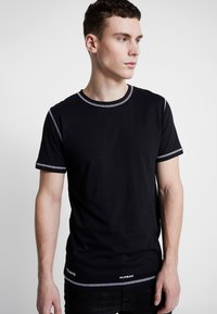Jack & Jones - JCOBREAK TEE CREW NECK - Triko s potiskem - black - 3