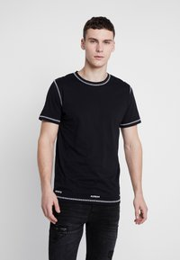 Jack & Jones - JCOBREAK TEE CREW NECK - Triko s potiskem - black - 0
