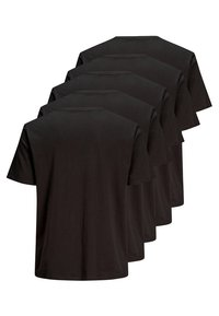 Jack & Jones - 5 PACK - Basic T-shirt - black - 1