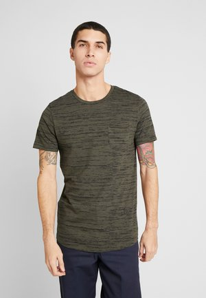 JORBASTON - Camiseta básica - dusty olive