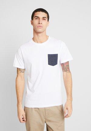 JCOPHOTO TEE  CREW NECK - T-Shirt print - white