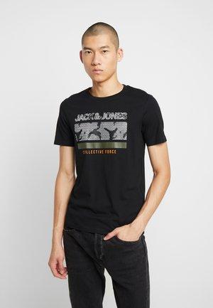JCOLAZER TEE CREW NECK - T-Shirt print - black