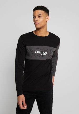 JCOBAMBOE TEE - Long sleeved top - black