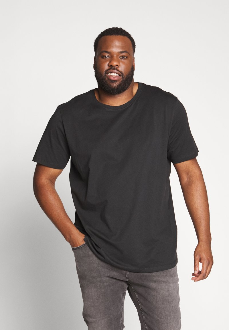 Jack & Jones - JORPLAYBOY TEE CREW NECK - Print T-shirt - black