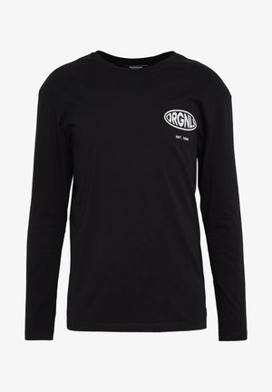 JORLOGGS TEE CREW NECK - Top sdlouhým rukávem - black