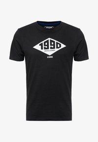 Jack & Jones - JCOBOUNCE TEE CREW NECK - T-shirt print - black - 3