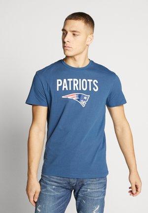 JORSUPEREN TEE CREW NECK - T-shirt z nadrukiem - ensign blue