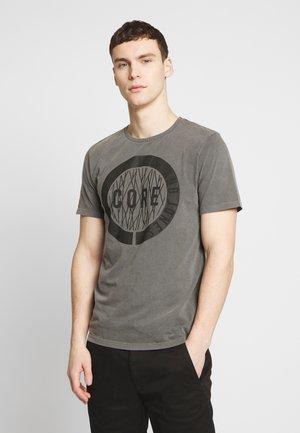 JCOPARADOX TEE CREW NECK - T-shirt z nadrukiem - asphalt