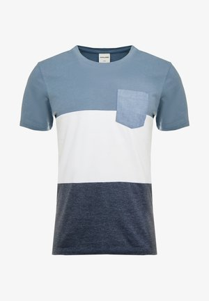 JCOEAGLE TEE CREW NECK SLIM FIT - T-shirt print - china blue