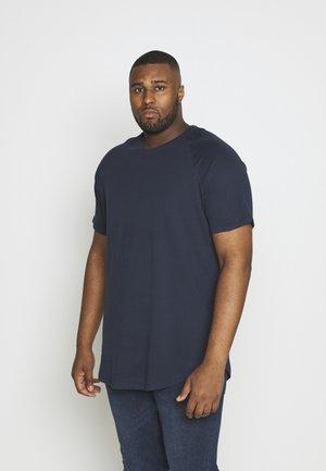 JJECURVED TEE - Jednoduché triko - navy blazer
