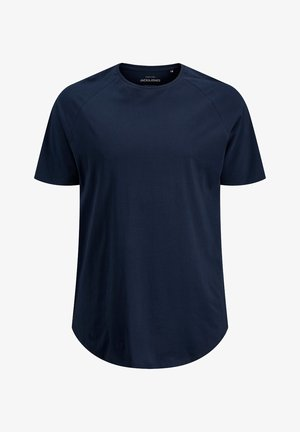 JJECURVED TEE - Basic T-shirt - navy blazer