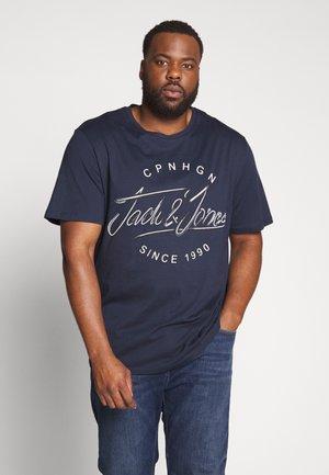 JORPEX  - T-shirt imprimé - navy blazer