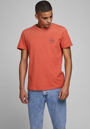 BRUSTLOGO - Print T-shirt - red