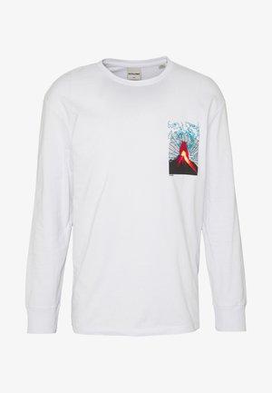 JCOVOLCANO - Langærmede T-shirts - white
