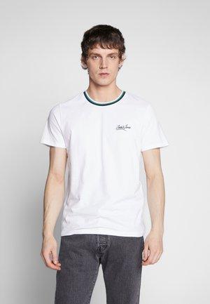 JORRINGER TEE CREW NECK  - T-Shirt print - white