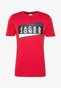 Jack & Jones - JCOSHAUN  - Printtipaita - chinese red - 3