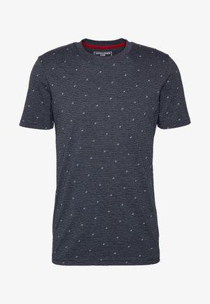 JCOCARL TEE CREW NECK - T-shirt imprimé - sky captain/melange