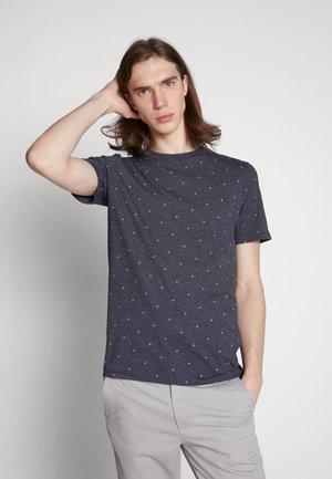 JCOCARL TEE CREW NECK - T-shirts med print - sky captain/melange