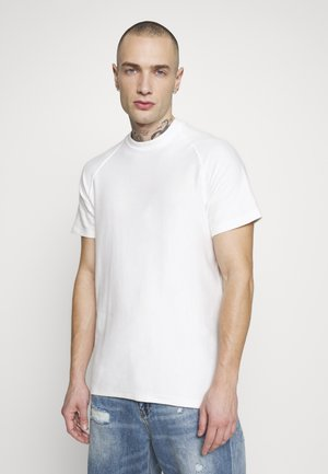 JORSUNE TEE CREW NECK - T-shirts - cloud dancer