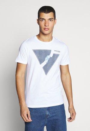 JCOTUTAN TEE CREW NECK - T-shirt con stampa - white