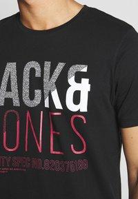 Jack & Jones - T-shirt z nadrukiem - black - 4
