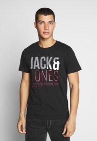 Jack & Jones - T-shirt z nadrukiem - black - 0