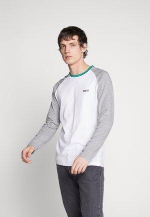 JORSHREEN TEE RAGLAN CREW NECK - Bluzka z długim rękawem - light grey melange