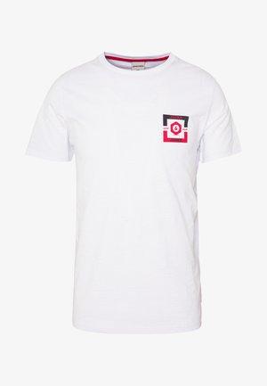 JCOSTRONG TEE CREW NECK - T-shirt print - white