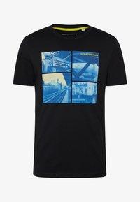 Jack & Jones - JCOPOP TEE SS  CREW NECK - T-Shirt print - black - 3