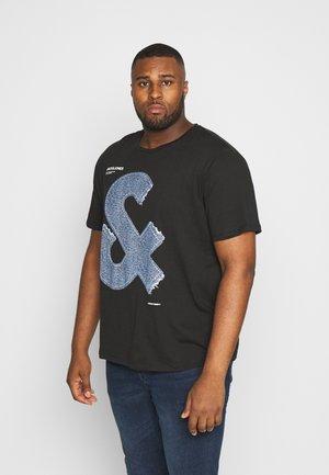 JCOTUTAN TEE CREW NECK  - T-shirt imprimé - black