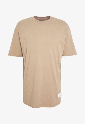 JCOALEX TEE CREW NECK - Jednoduché triko - dune