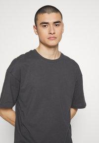 Jack & Jones - JCOALEX TEE CREW NECK - Basic T-shirt - asphalt - 3