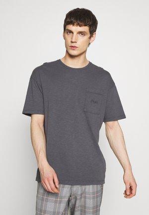 JORDUSTY TEE CREW NECK - Basic T-shirt - asphalt