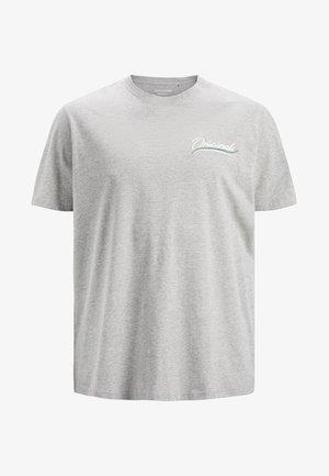 Printtipaita - light grey melange