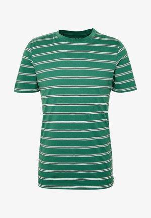 JORCALIF TEE CREW NECK - Print T-shirt - fir