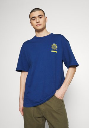 JCOHEAT TEE CREW NECK - T-shirt print - navy peony