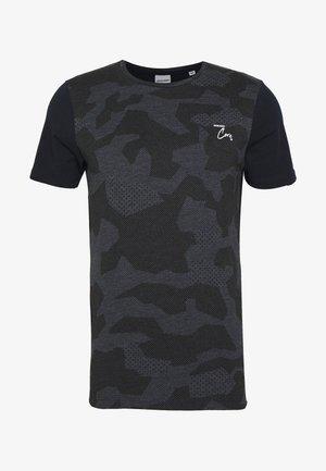 JCOEMMETT TEE CREW NECK  - T-shirt print - sky captain melange