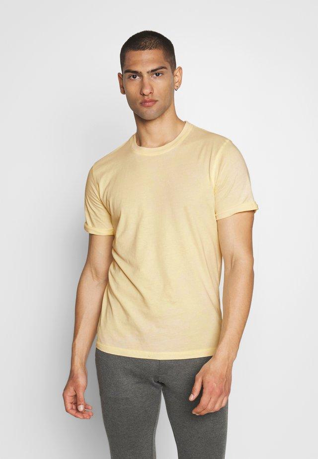 JORLEVEL TEE CREW NECK - T-shirt basic - flan