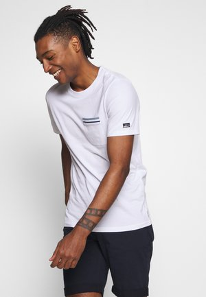 JCOCARLOS TEE CREW  NECK - T-Shirt basic - white