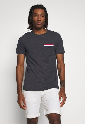 JCOCARLOS TEE CREW  NECK - T-Shirt basic - dark blue