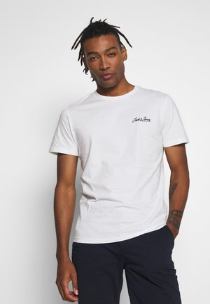 JOREXPLORE TEE CREW NECK  - Print T-shirt - cloud dancer