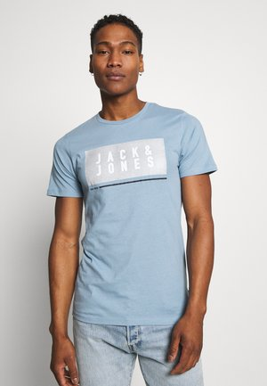 JCOSEAD TEE CREW NECK - Print T-shirt - faded denim