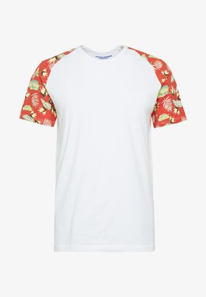 JORTROPIC TEE - T-shirt print - cloud dancer