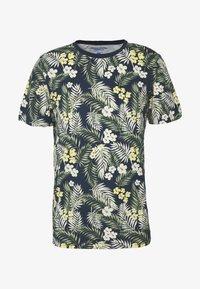 Jack & Jones - JORTROPIC TEE CREW NECK - T-shirt med print - navy blazer - 3